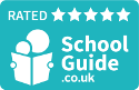 5 star rated on SchoolGuide.co.uk