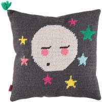Tootsa valy moon cushion front
